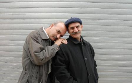 حمید جبلی و ایرج طهماسب