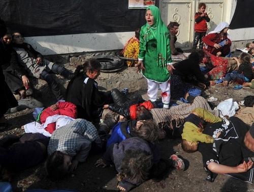 برنده جایزه پولیتزر / عکس از مسعود حسینی