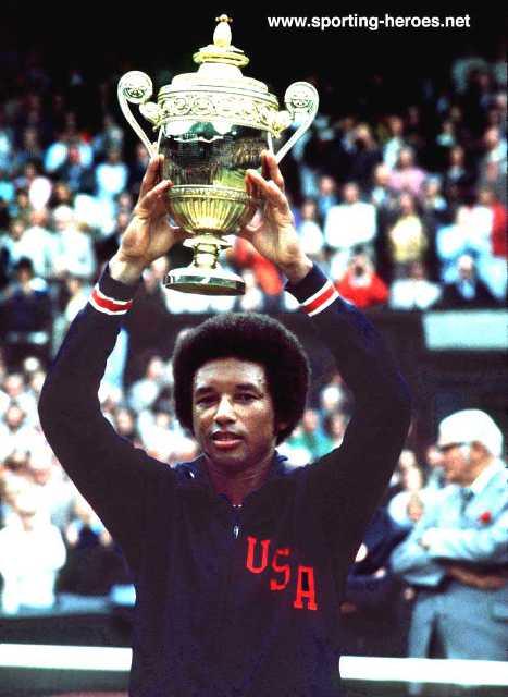 آرتور روبرت اش، قهرمان افسانه ایی تنیس