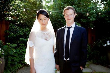 مراسم ازدواج مارک زوکربرگ