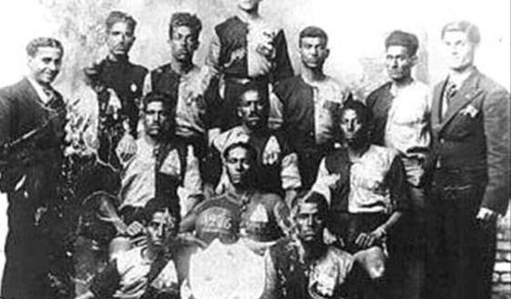 نخستین تیم ملی فوتبال ایران