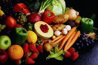 خواص ميوه ها و سبزيجات براساس رنگ