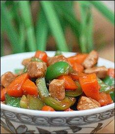 خوراک گوشت و هویج رژیمی