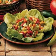 سالاد سبزىهاى بهارى