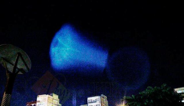 شی نورانی در آسمان ایران