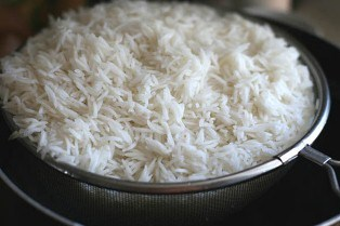 دم کشیدن فوری برنج