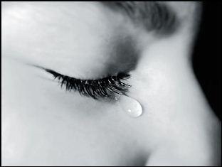 علت اصلی گریه کردن