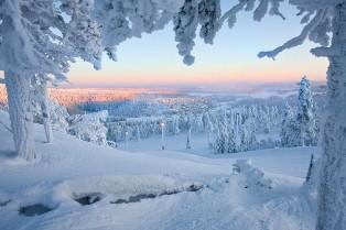 لاپلند lapland، بر فراز جنگل های اسکاندیناوی