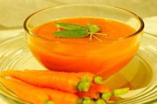 سوپ هویج هندی