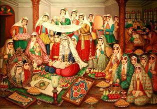 تاريخچه ازدواج در ايران باستان