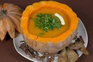طرز تهیه ی سوپ کدو تنبل