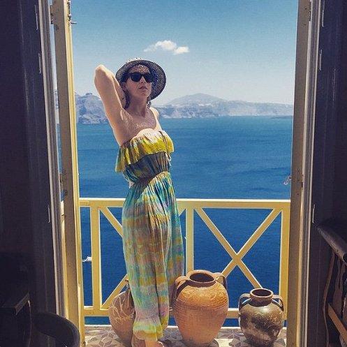 کیتی پری در یونان