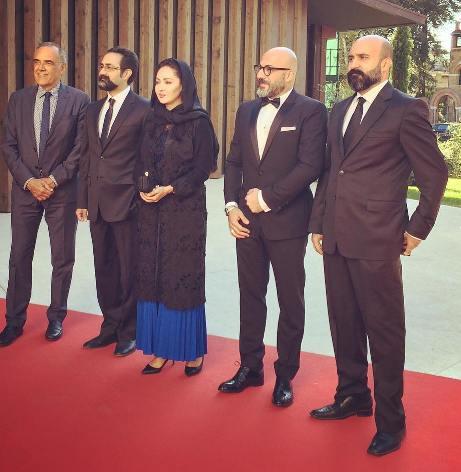 عوامل فیلم چهارشنبه 19 اردیبهشت بر روی فرش قرمز جشنواره ونیز