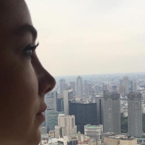 آنا نعمتی در ژاپن