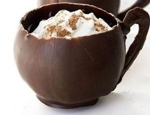 کاپ بستنی شکلاتی