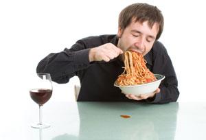 بد غذا خوردن