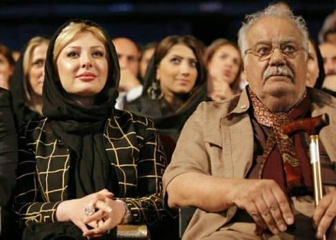 نیوشا ضیغمی و ناصر ملک مطیعی