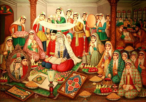 شب زفاف در ایران قدیم