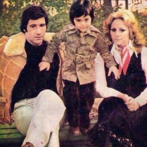 ناصر حجازی و همسرش در پارک شریعتی تهران