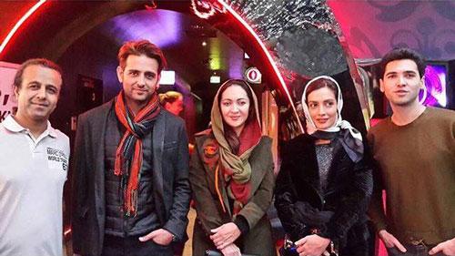 عکس های نیکی کریمی از جشنواره فیلم ورشو