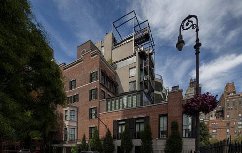 خانه اشرف پهلوی در منهتن نیویورک