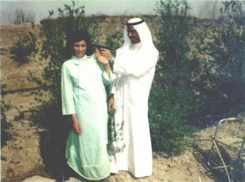 شوخی عجیب صدام با همسرش ساجده