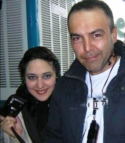 زهرا امیرابراهیمی و فریبرز عرب نیا در یک عکس خاطره انگیز