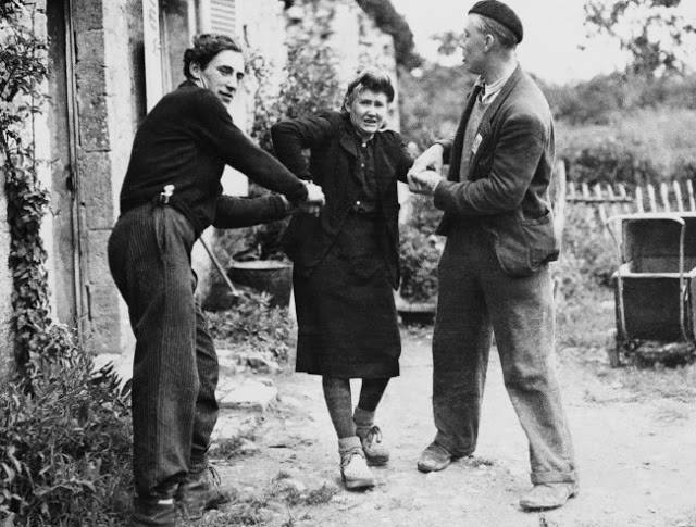 مجازات زنان روسپی پس از جنگ جهانی دوم