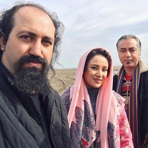 محمدرضا هدایتی، بهاره افشارى و آرش سنجابى