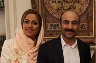 عکس جدید و عاشقانه محسن تنابنده و همسرش