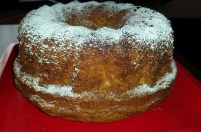 کیک ده سانتی