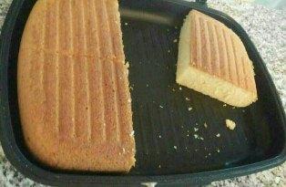 کیک در تابه دو طرفه