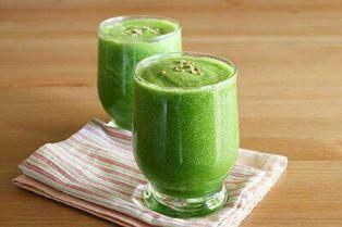 نوشیدنی سبز صبحگاهی