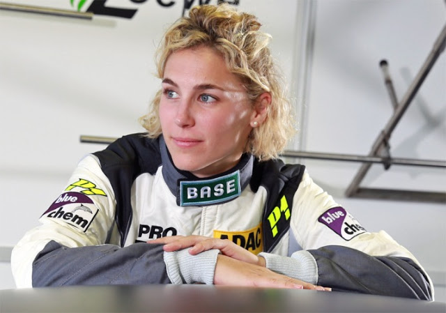 قهرمان زن اتومبیلرانی