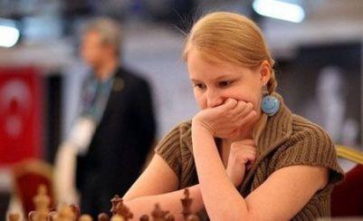 شطرنج باز زن روسی