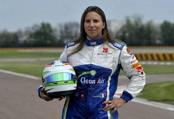زیباترین زن اتومبیلرانی