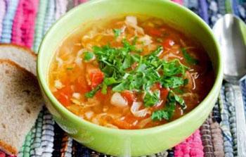 سوپ کلم یونانی