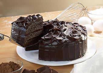 کیک شکلاتی تلخ