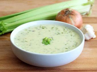 سوپ کرمی کرفس