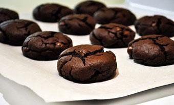 کوکی های شکلاتی چسبناک