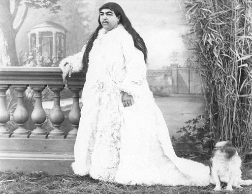 روایت ناصرالدین شاه درباره سبیل دخترش عصمت الدوله