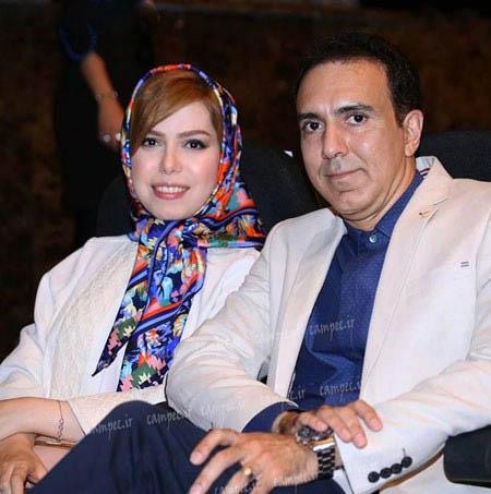 عکس های مزدک میرزایی مجری ورزشی تلویزیون به همراه همسرش