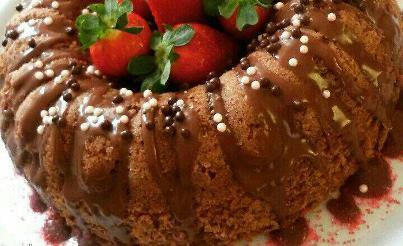 کیک شکلاتی ماستی