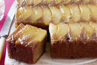 کیک گلابی