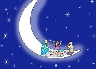 شعر رمضان آمد و مهمونی به پا شد