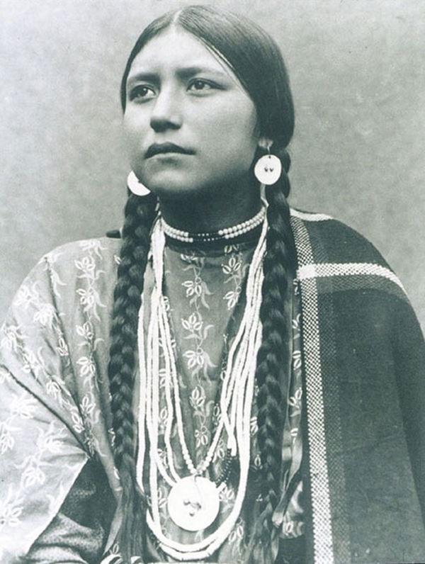 زن سرخپوست