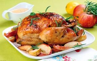مرغ شکم پر بدون فر