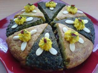 کیک کوکو سبزی
