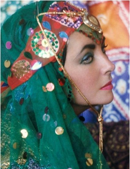 الیزابت تیلور در ایران