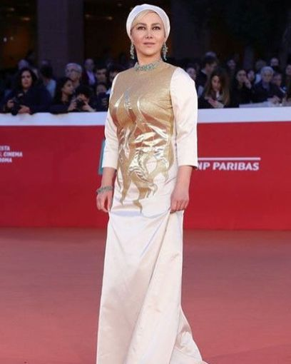 آنا نعمتی در جشنواره فیلم رم ایتالیا